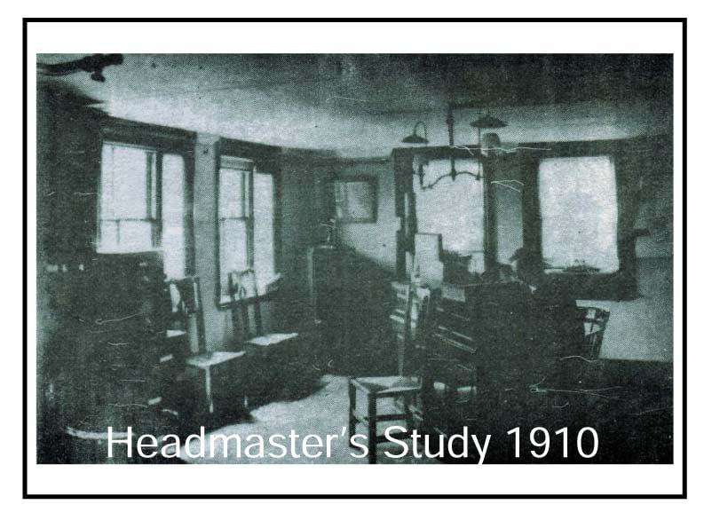 Headmasters Study 1910