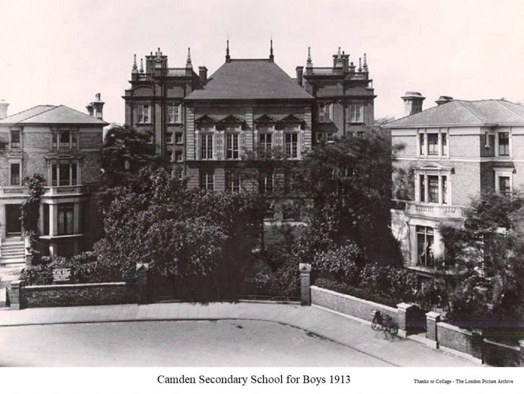 Camden Secondary School for Boys 1913