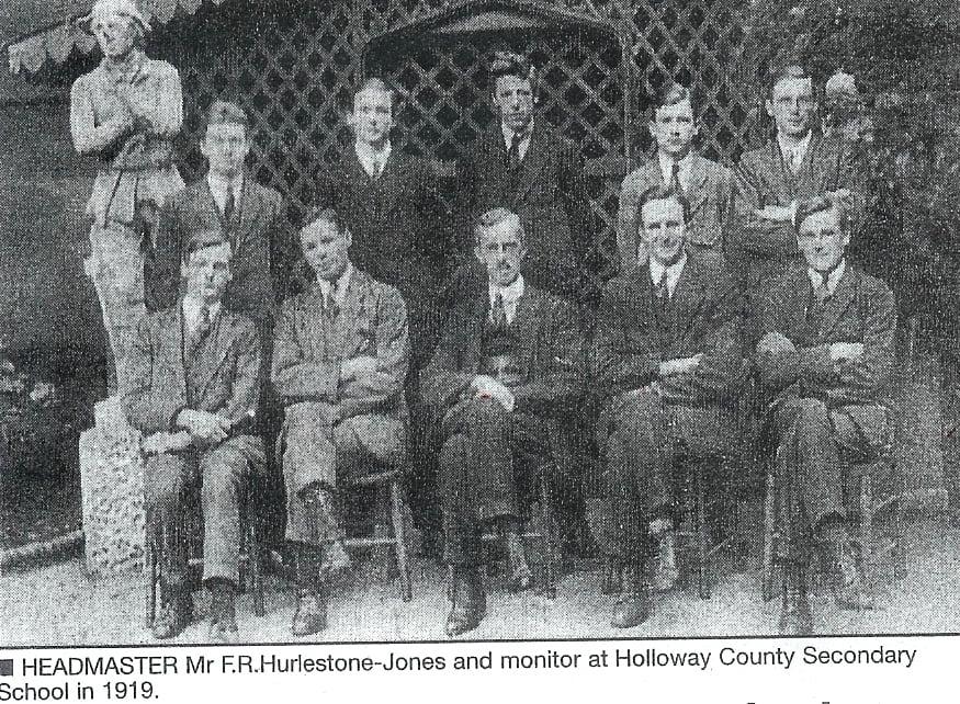1919 Headmaster and Monitors