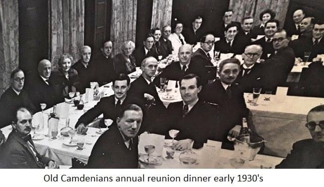 OCC Annual reunion dinner early 1930s