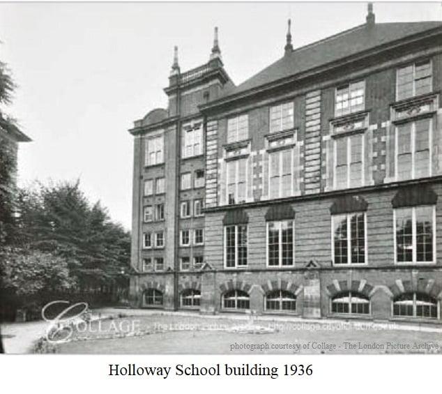 Holloway School Building 1936