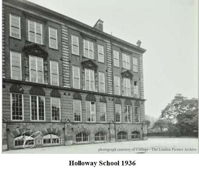 Holloway School 1936