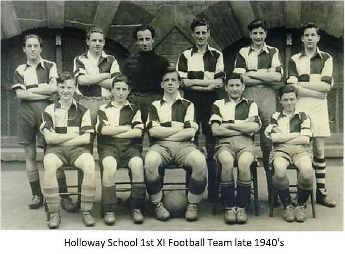 Holloway School 1st Xl Football Team late 1940s