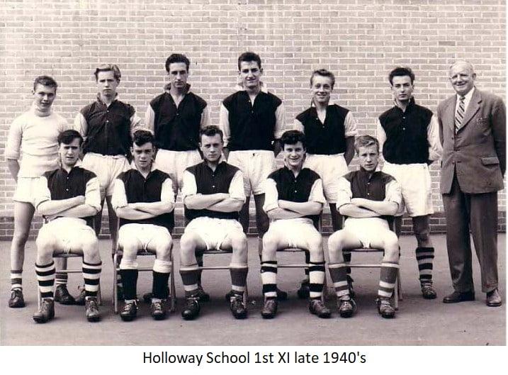 Holloway School 1st XL late1940s