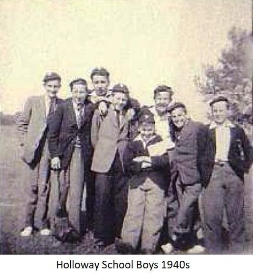 Holloway School Boys 1940s