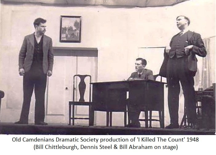 OCC Dramatic Society production of 'I Killed The Count' 1948