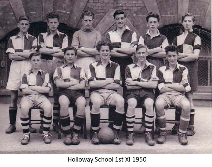 Holloway School 1st Xl 1950