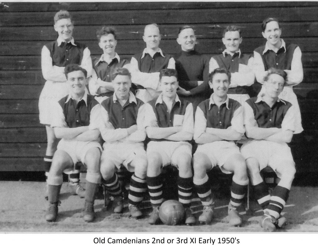 Old Camdenians 2nd or 3rd Xl Early 1950s