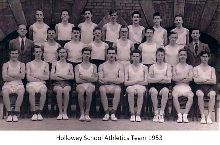 Holloway School Athletics Team 1953