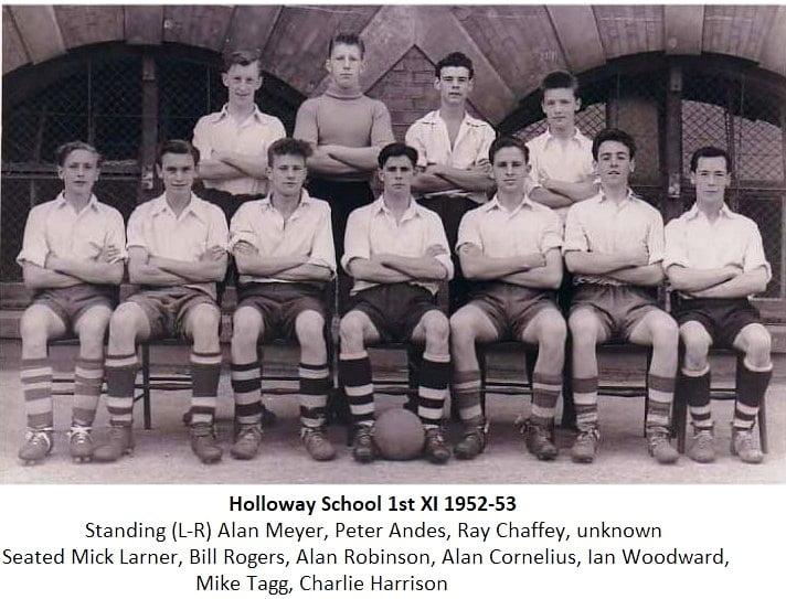 Holloway School 1st Xl 1952-53