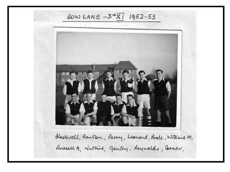 Bow Lane 3rd Xl 1952-5