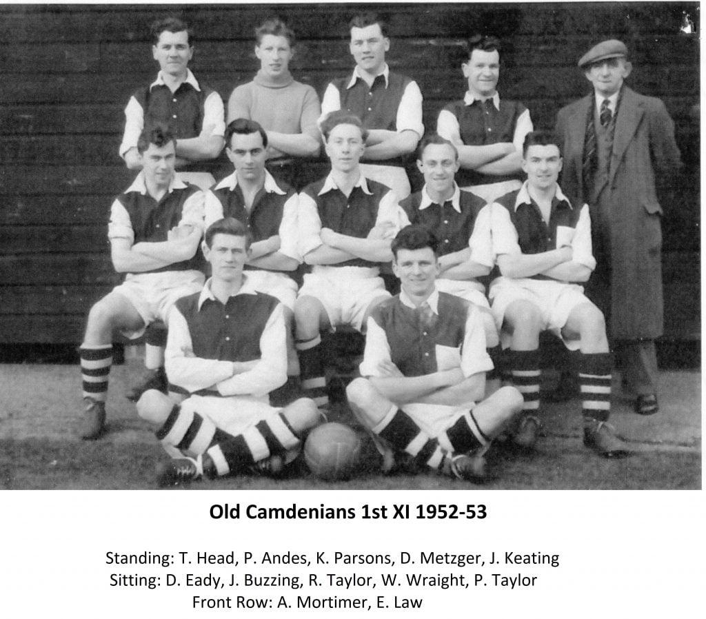 Old Camdenians 1st Xl 1952-53