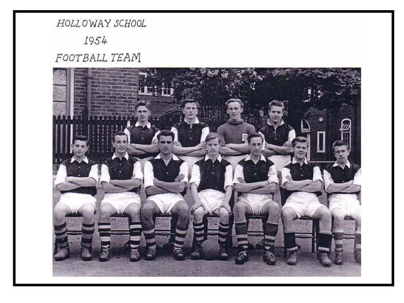 Holloway School Football Team 1954