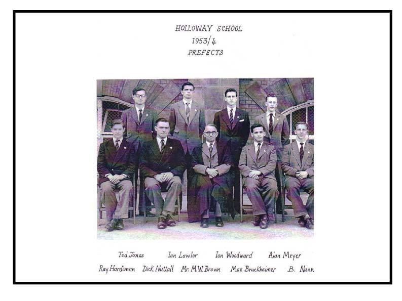 OC prefects 1954