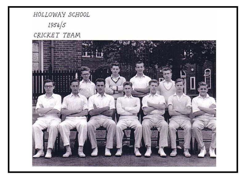 Holloway School Cricket Team 1954-5