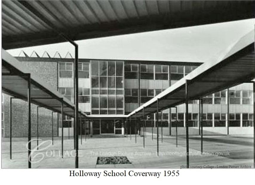 Holloway School Coverway 1955