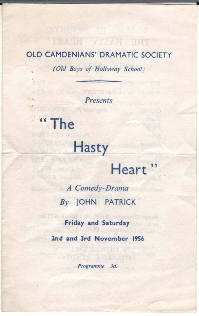 1956 hasty heart