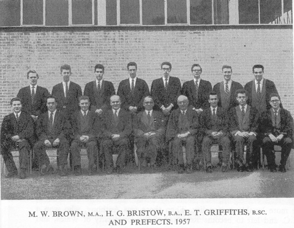 1957 Brown & prefects