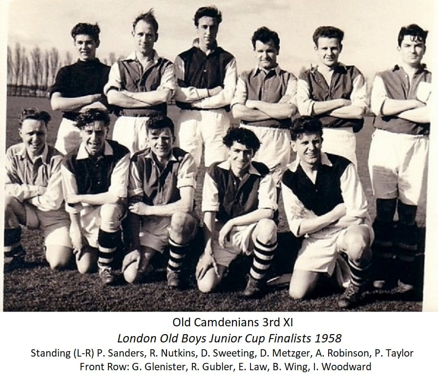 Old Camdenians 3rd Xl