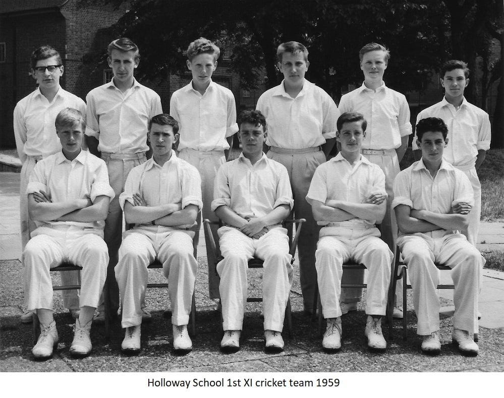 Holloway School 1st Xl Cricket Team 1959