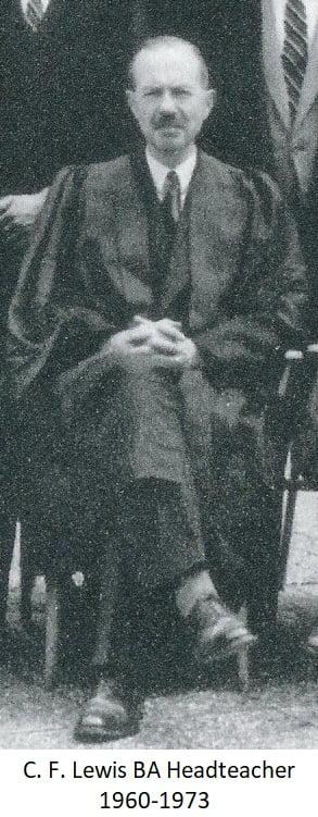 C.F. Lewis BA Headteacher