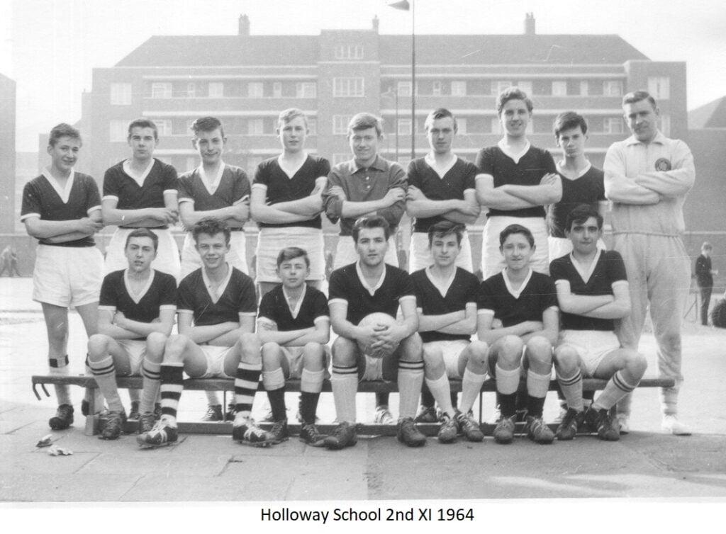 Holloway School Football Team 2nd XI 1964