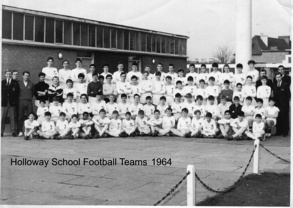 1964 Holloway School Football Teams