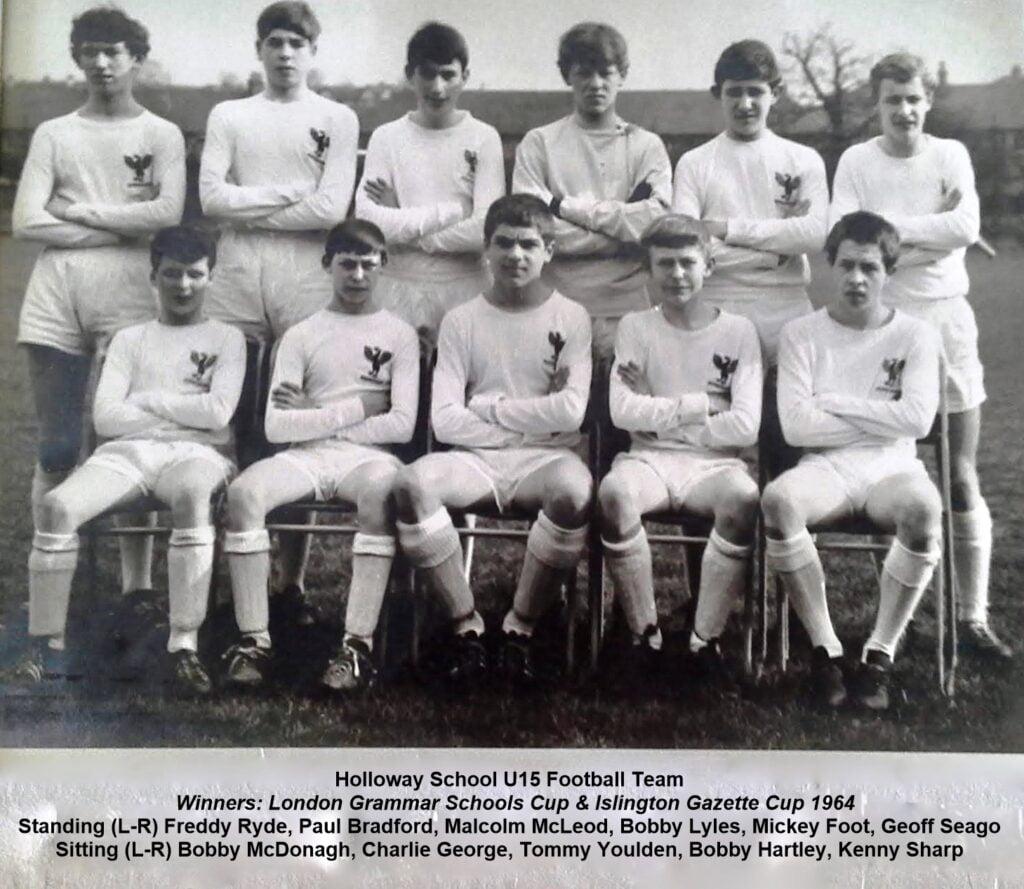 1964 Holloway School U15 team