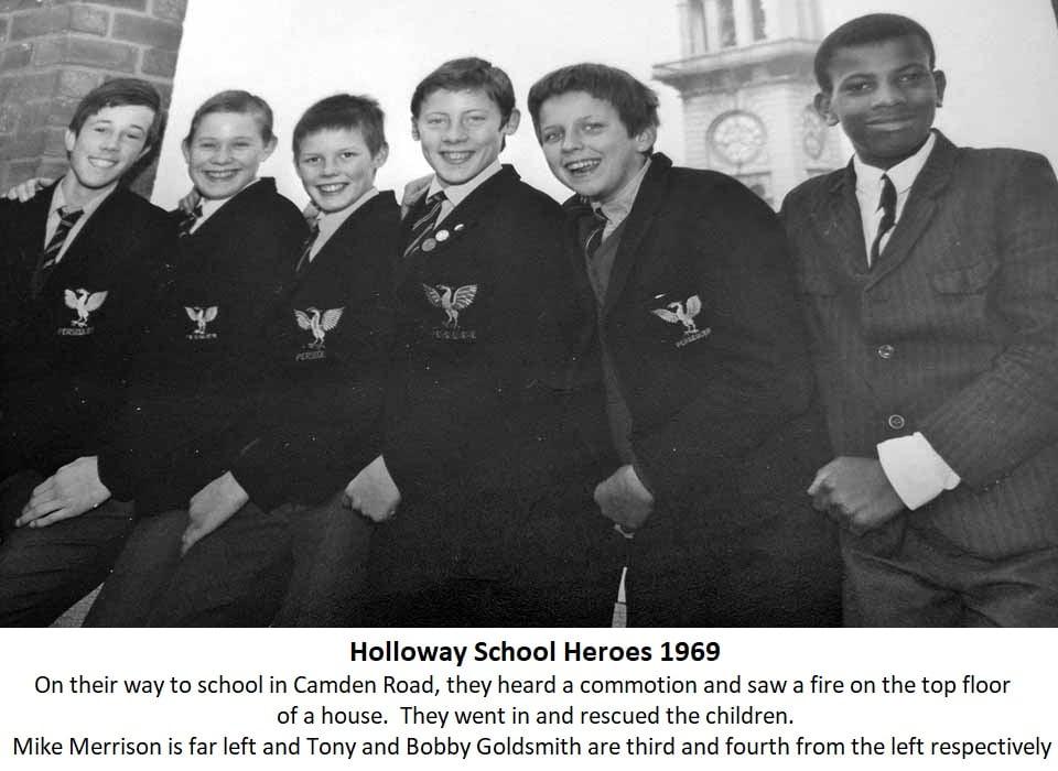 Holloway School Hero's 1969