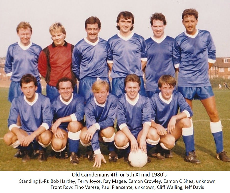 1980's mid OCFC poss 4th or 5th XII
