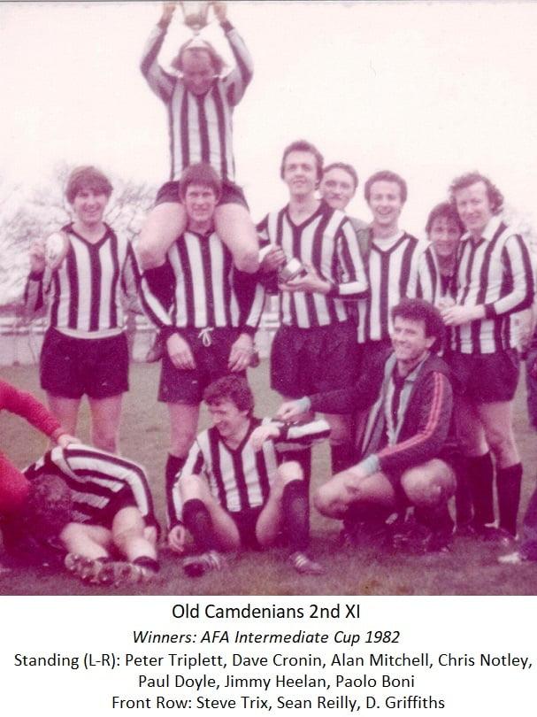 Old Camdenians 2nd Xl