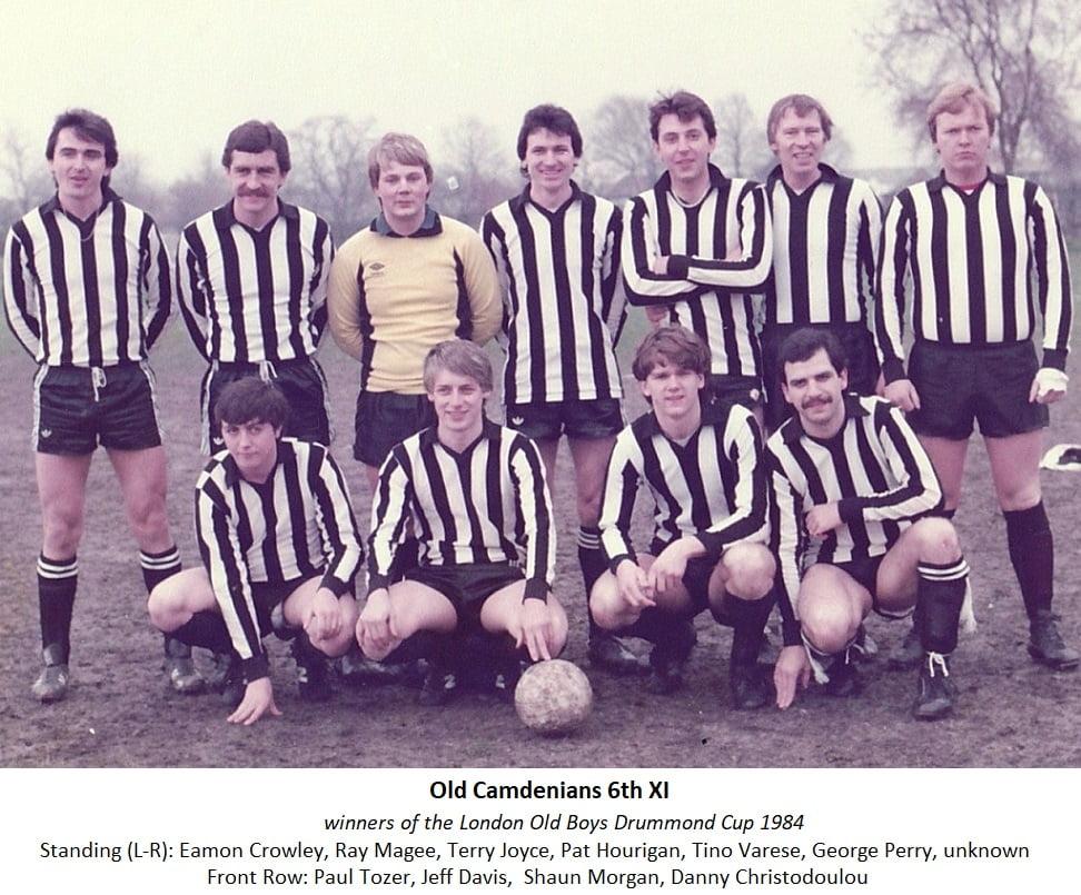 OCFC 6th XI cup final 1984