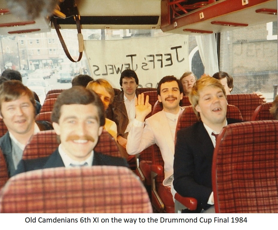 OCFC 6th XII on way to cup final 1984