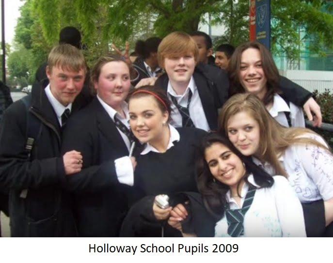 Holloway School Pupils 2009
