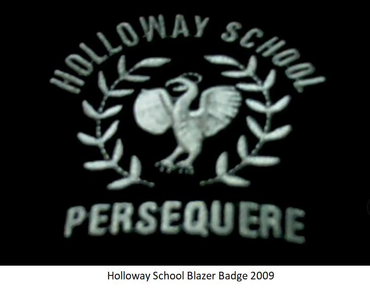 Holloway School Blazer Badge 2009