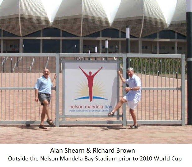 Alan Shearn & Richard Brown