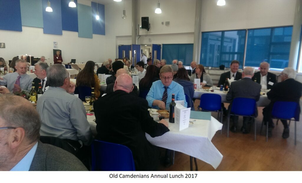 Old Camdenians Annual Lunch 2017
