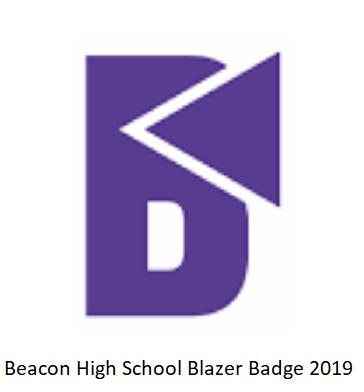 Beacon High School Blazer Badge 2019